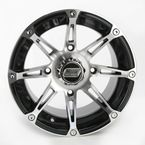 Machined/Black 387X 14x8 Wheel - 0230-0460