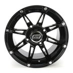 Gloss Black 387X 14x8 Wheel - 0230-0469