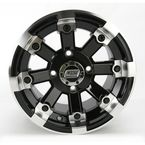 Black 393X Cast Aluminum ATV/UTV Wheel - 0230-0519