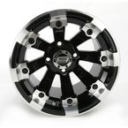 Black 393X Cast Aluminum ATV/UTV Wheel - 0230-0521