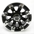 Black 393X Cast Aluminum ATV/UTV Wheel - 0230-0523