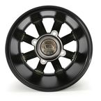 Black 393X Cast Aluminum ATV/UTV Wheel - 0230-0525
