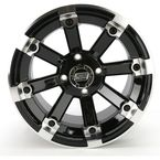 Black 393X Cast Aluminum ATV/UTV Wheel - 0230-0532