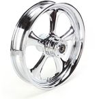 Front 18 in. x 3.5 in. Nitro One-Piece Forged Aluminum Chrome Wheel for Models w/ ABS - 18350-9031A-92C