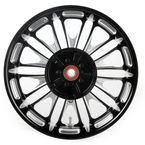 16 in. x 5 in. Boss One-Piece Contrast-Cut Aluminum Wheel for Models w/ABS - 12697612RBSSBM