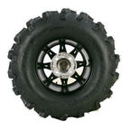 Machined Black 387X Tire/Wheel Kit - 0331-1161