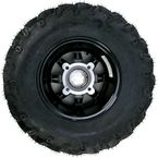 Gloss Black 387X Tire/Wheel Kit - 0331-1167
