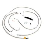 Throttle-by-Wire Handlebar Cable and Brake Line Kit for Use w/12 in. - 14 in. Ape Hangers - LA-8010KT-13