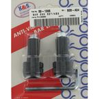 Black Anti-Vibration Finish Bar Ends - 15-6005