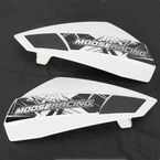 White Flyby Handguards - 0635-0949