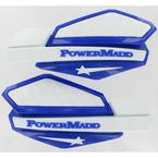 Star Series Blue/White Handguard System - PM14221