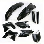 Black Full Replacement Plastic Kit - 2198050001