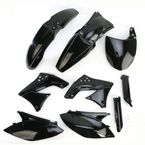 Black Full Replacement Plastic Kit - 2198060001