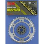 GB525XSO Race Chain and Sprocket Kit - 1062-010WG