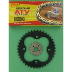 520 Quad Z-Ring Chain and Sprocket Kit - 5QUAD094KHO025