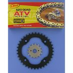 520 Quad Z-Ring Chain and Sprocket Kit - 5QUAD096KSU0