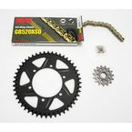 Quick Acceleration GB520XSO Chain Kit with Light Weight Sprockets - 4067-038RK