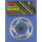 GB520XSO Race Chain and Sprocket Conversion Kit - 1062-918RG