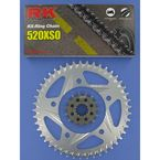520XSO Chain and Sprocket Conversion Kit - 1062-998R