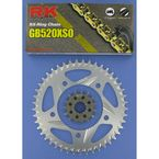 GB520XSO Race Chain and Sprocket Conversion Kit - 1062-998RG