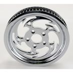 Chrome 65-Tooth Savage Rear Pulley  - HD106500-85C