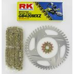 GB420MXZ Chain and Sprocket Kit - 2002-918ZG