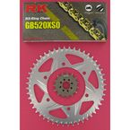GB520XSO Race Chain and Sprocket Conversion Kit - 2067-938RG