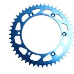 520 48 Tooth Blue Rear Sprocket - 1211-0860