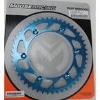 520 49 Tooth Blue Rear Sprocket - 1211-0861