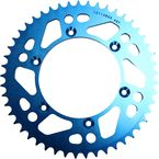 520 49 Tooth Blue Rear Sprocket - 1211-0865