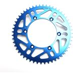 520 52 Tooth Blue Rear Sprocket - 1211-0868