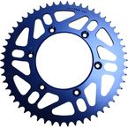 520 54 Tooth Blue Rear Sprocket - 1211-0869