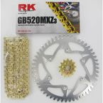 GB520MXZ Chain and Sprocket Kit - 3022-978ZG