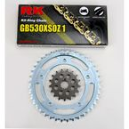 GB530GXW Chain and Sprocket Kit - 3108-030WG