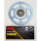 530XSO Chain and Sprocket Conversion Kit - 4067-030W