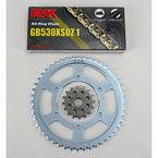 GB530XSO Chain and Sprocket Conversion Kit - 4067-030WG