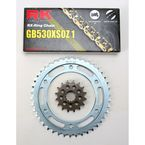 GB530XSO-Z1 Chain and Sprocket Kit - 1102-080WG