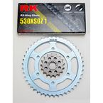 530XS0Z1 Chain and Sprocket Kit - 4102-060W