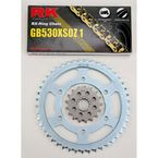 GB530XSO-Z1 Chain and Sprocket Kit - 4107-060WG