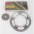 GB525GXW Chain and Sprocket Kit - 3076-040WG