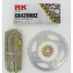 GB428MXZ Chain and Sprocket Kit - 4002-938ZG