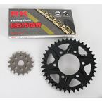 GB525GXW Chain and Black Sprocket Kit - 2108044AK