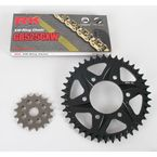 GB525GXW Chain and Black Sprocket Kit - 2108-084AK