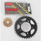 GB530GXW Chain and Black Sprocket Kit - 2147-064AK
