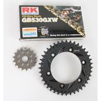 GB530GXW Chain and Black Sprocket Kit - 3136-994AK