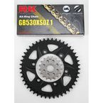GB530GXW Chain and Black Sprocket Kit - 4107-044AK