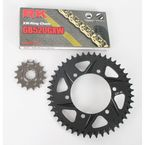 GB520GXW Chain and Black Sprocket Conversion Kit - 4102-068RK