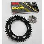 Quick Acceleration GB520XSO Chain Conversion Kit  - 1062-078RK