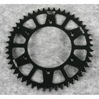 48 Tooth Black Anodized Rear Works Triplestar Aluminum Sprocket - 5-354748BK