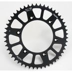 49 Tooth Black Anodized Rear Works Triplestar Aluminum Sprocket - 5-354749BK